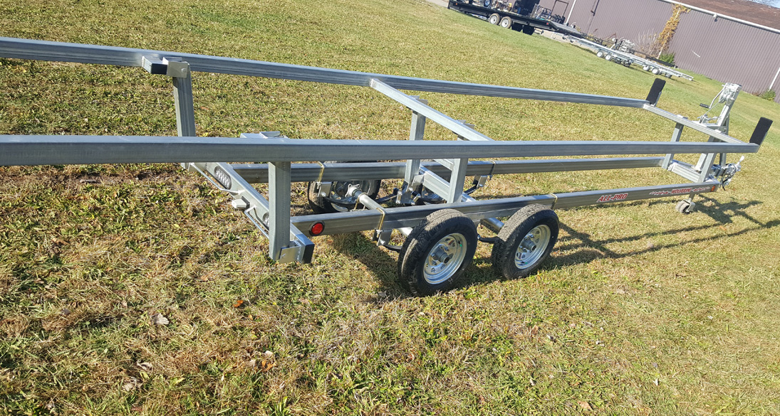 All-Pro Bunk Style Pontoon Trailer - Photo 1