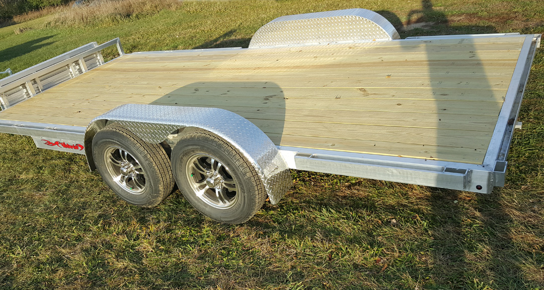 All-Pro Bunk Style Tandem Pontoon Trailer - Photo 1
