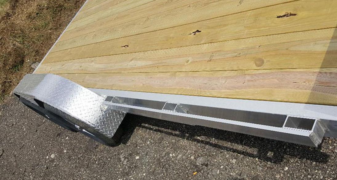 Wolverine Aluminum Utility Trailers